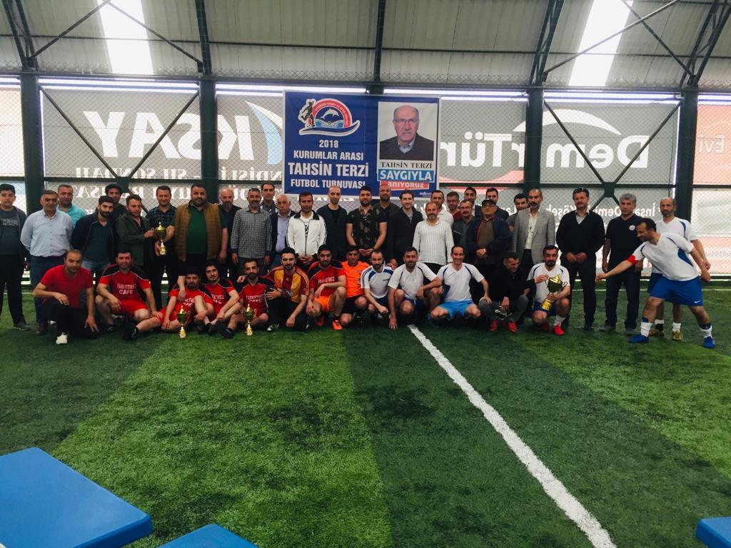 2018 Yılı Kurumlar Arası Tahsin TERZİ Futbol Turnuvası